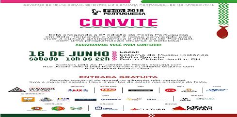 Belo Horizonte celebra a 8ª edição da Festa Portuguesa!